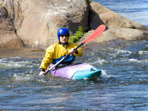 Kayaker Stockfotos