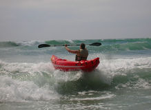 Kayaker Stock Image