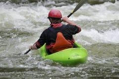 Kayaker royalty free stock photo