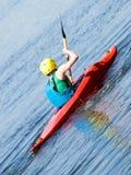 Kayaker Royalty Free Stock Images
