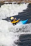 Kayaker Royalty Free Stock Photos