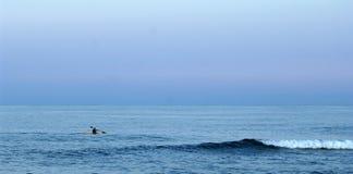 Kayaker atlantique Image stock