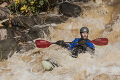 Kayaker B Royalty Free Stock Photos