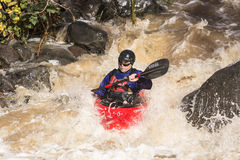 Kayaker C Royalty Free Stock Photos