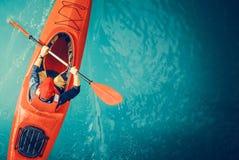 Free Kayaker Lake Tour Aerial Stock Photos - 128378793