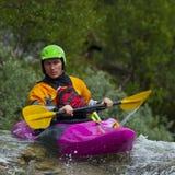 Kayaker's portrait Stock Photography