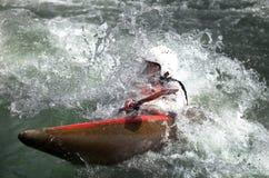 kayaker target497_0_ Zdjęcia Royalty Free