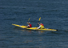 Kayakers Stock Images