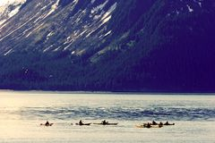 Kayakers Royalty Free Stock Photos