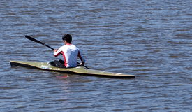 kayaking ποταμός ατόμων Στοκ φωτογραφίες με δικαίωμα ελεύθερης χρήσης