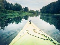 kayaking ποταμός Στοκ εικόνες με δικαίωμα ελεύθερης χρήσης