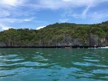 Kayaking σε Ko Mae Ko Στοκ Φωτογραφίες