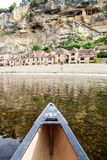 Kayaking στον ποταμό dordogne στοκ εικόνες με δικαίωμα ελεύθερης χρήσης
