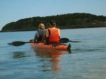 Kayaking Stock Fotografie