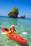 Kayaking Obrazy Stock