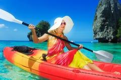 Kayaking Immagini Stock Libere da Diritti