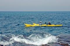 kayaking Стоковые Изображения