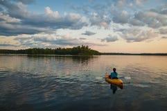 Kayaking Fotos de Stock