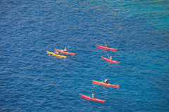 Kayaking Royalty Free Stock Photos