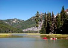 Kayaking Immagine Stock Libera da Diritti