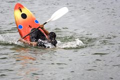 Kayaking Fotografia de Stock