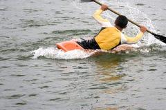 Kayaking Imagem de Stock Royalty Free