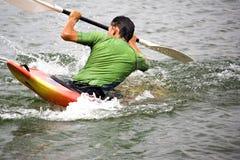 Kayaking Imagens de Stock
