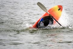 Kayaking Foto de Stock