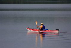 Kayaking Imagem de Stock Royalty Free