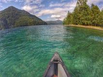 kayaking Lizenzfreie Stockfotos