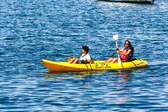 Kayaking Royalty Free Stock Images