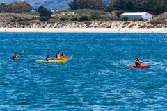 Kayaking Royalty Free Stock Image