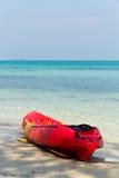 Kayaking. Royalty Free Stock Image