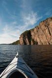 Kayaking in Bon Echo Stock Afbeeldingen