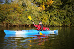 Kayaking the Colorado River (Between Lees Ferry and Glen Canyon Dam) Royalty Free Stock Images