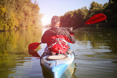 Kayaking the Colorado River (Between Lees Ferry and Glen Canyon Dam) Royalty Free Stock Photography