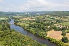 Kayaking the Dordogne Royalty Free Stock Photography