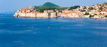 Kayaking in Dubrovnik Stock Image