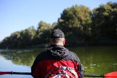 Kayaking el río Colorado (entre el transbordador de Lees y Glen Canyon Dam) Imágenes de archivo libres de regalías
