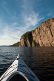 Kayaking em Bon Echo Imagens de Stock