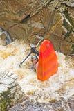 kayaking flod för findhorn Arkivbild