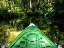 Kayaking in Florida royalty free stock photos