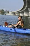 Kayaking Fun Stock Photo