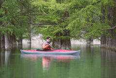 Kayaking. Royalty Free Stock Photos