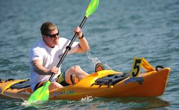 Kayaking, Kayaker, Kayak Stock Photos
