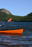 Kayaking in Maine Stock Photography