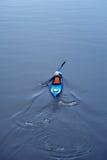 Kayaking na rzece, tyły view11 Fotografia Royalty Free