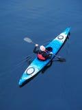 Kayaking na rzece, tyły view10 Zdjęcia Royalty Free