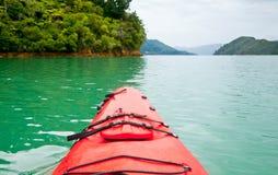 Kayaking in New Zealand Stock Photos