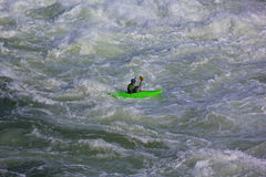 Kayaking on Potomac river, USA Stock Images